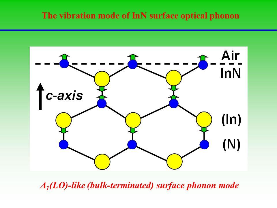 The vibration mode of InN surface optical phonon A 1 (LO)-like (bulk-terminated) surface phonon mode
