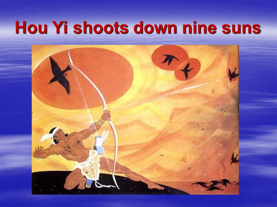 Hou Yi shoots down nine suns