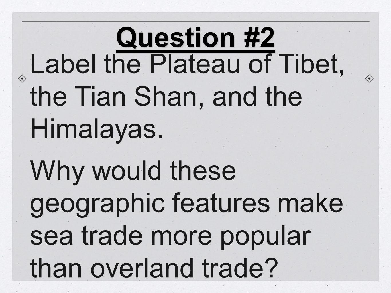 Geography Challenge #4 1.What do you now know about China that you didn't know before.