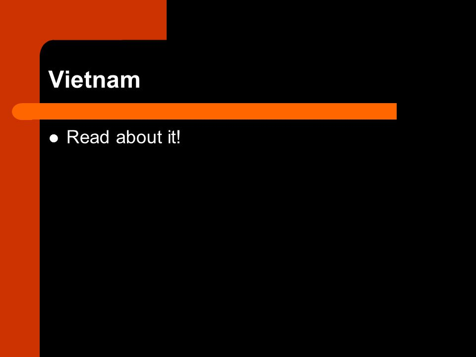 Vietnam Read about it!