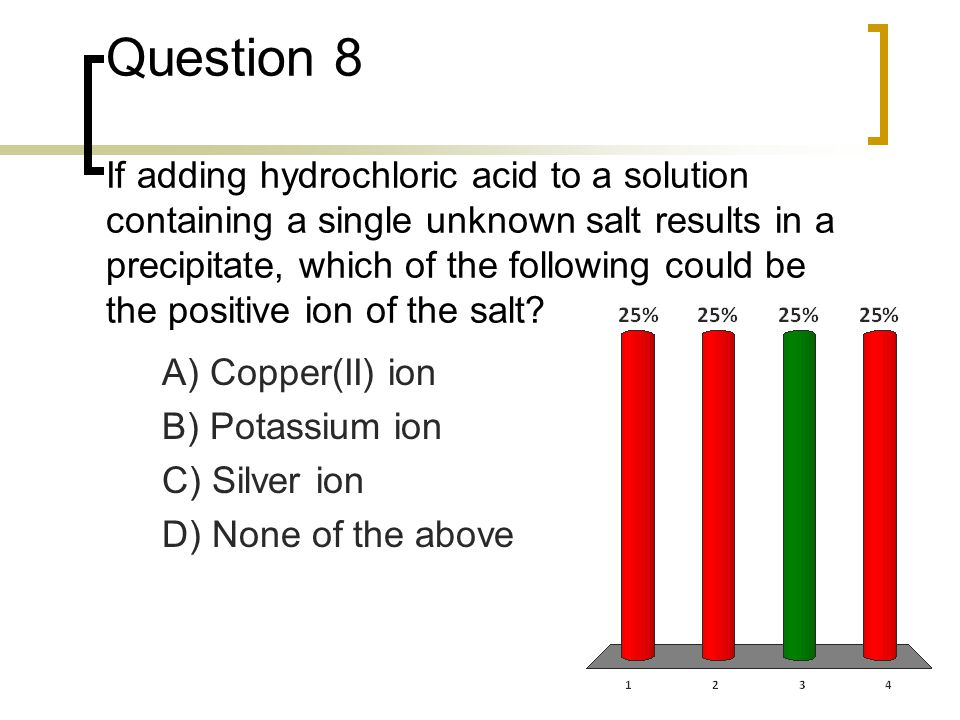Question 9 Phenolphthalein is a common acid-base indicator that changes color between pH 8.3 and 10.
