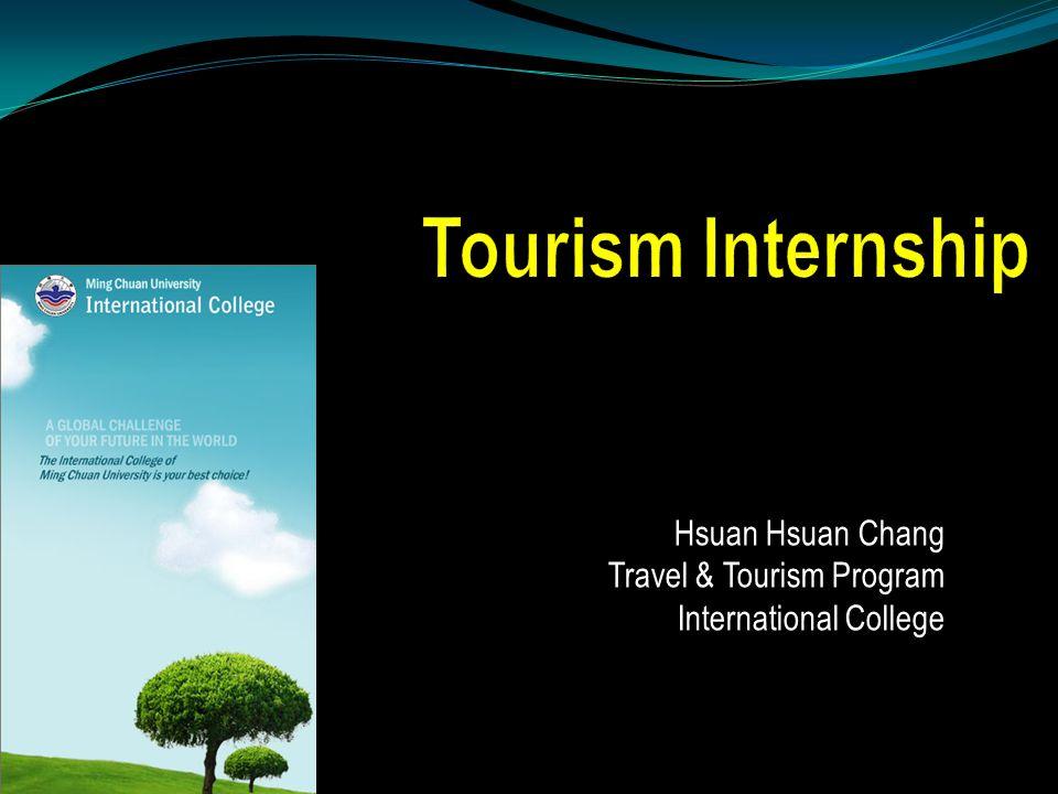 Hsuan Hsuan Chang Travel & Tourism Program International College