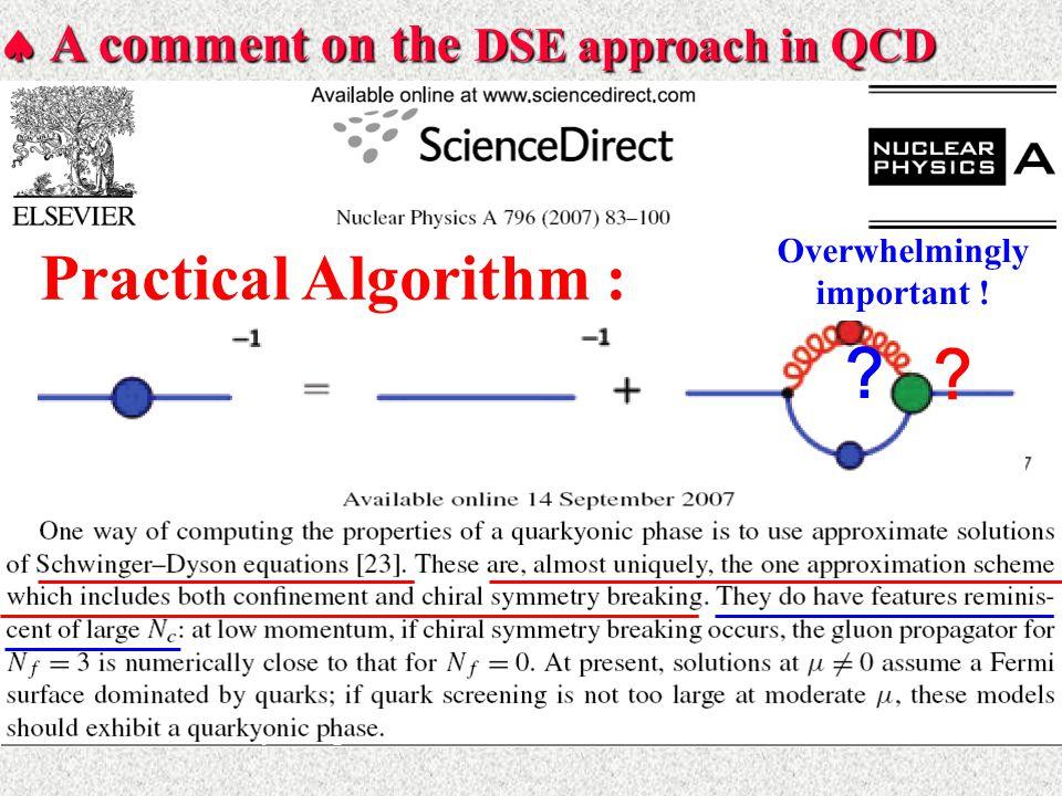  Practical Algorithm at Present  Truncation : Preserving Symm.