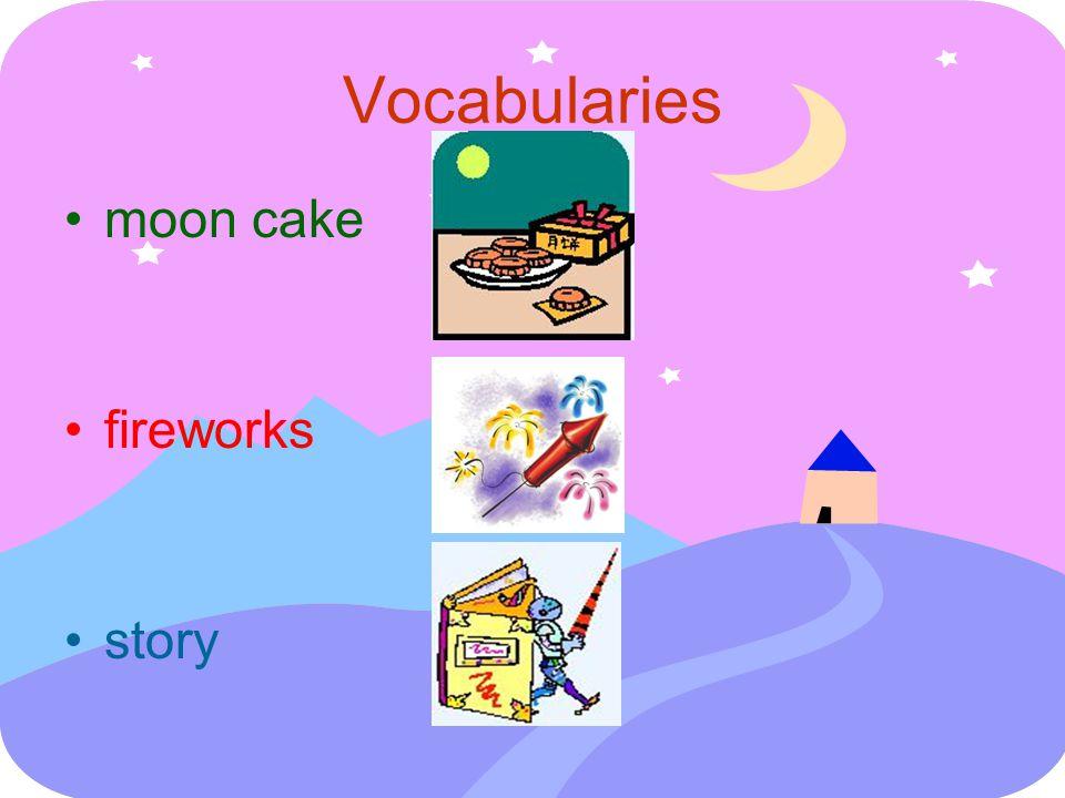 moon cake fireworks story