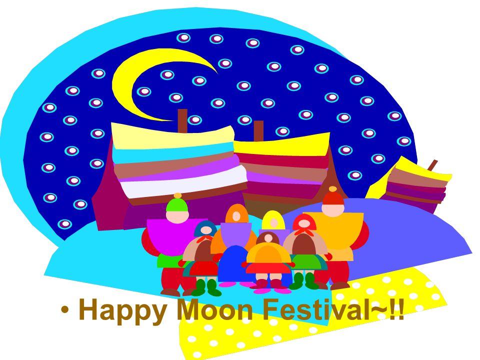 Happy Moon Festival~!!
