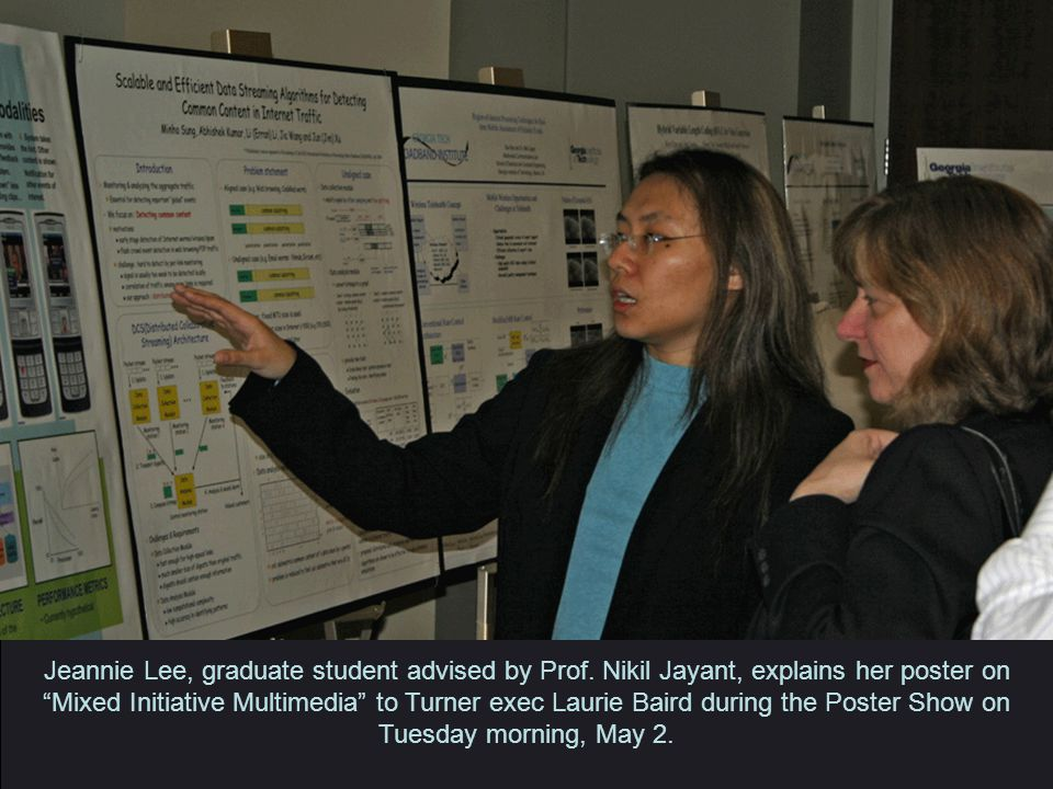 Jeannie Lee, graduate student advised by Prof.