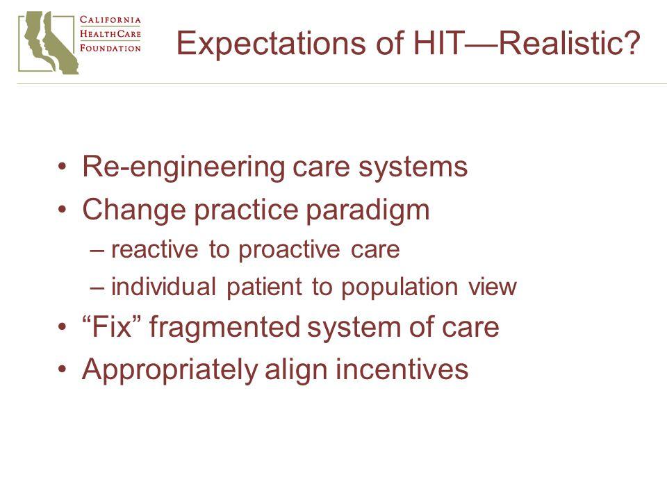 www.chcf.org California HealthLine iHealthBeat Updates on Chronic Disease Care and iHealth activities