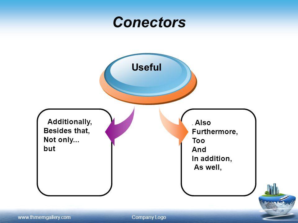Conectores  Los conectores discursivos son adverbios y conjunciones que ayudan a relacionar las diferentes ideas que constituyen un texto o una intervención oral.