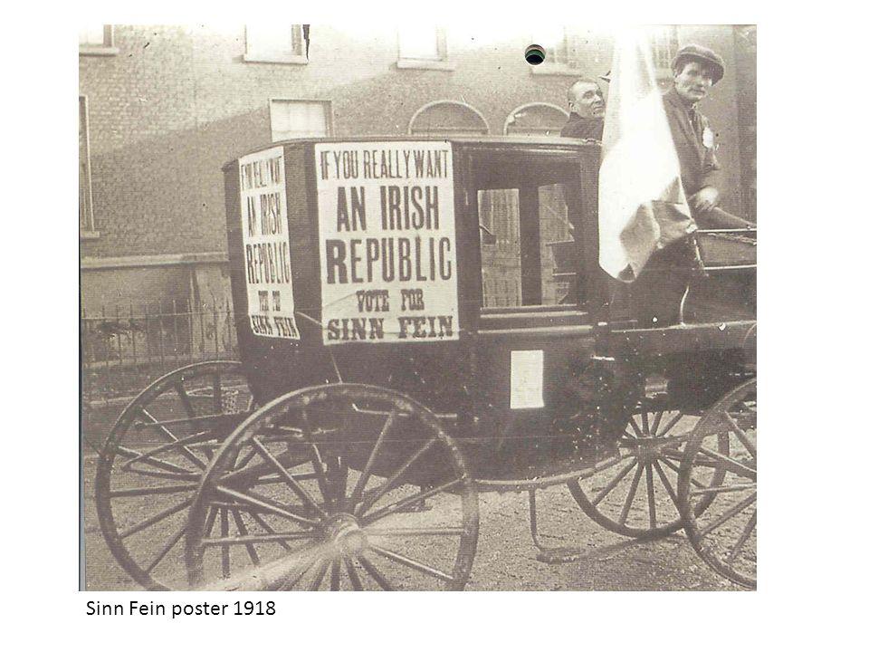 Sinn Fein poster 1918