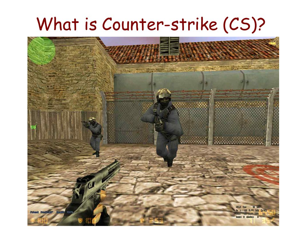 What is Counter-strike (CS)