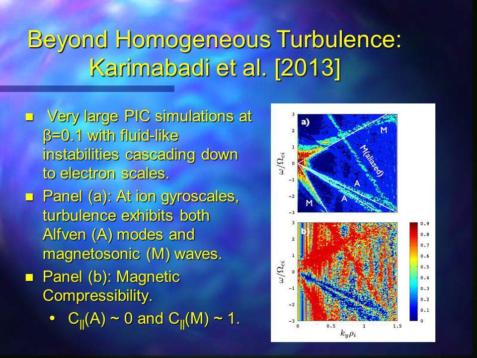 Beyond Homogeneous Turbulence: Karimabadi et al.