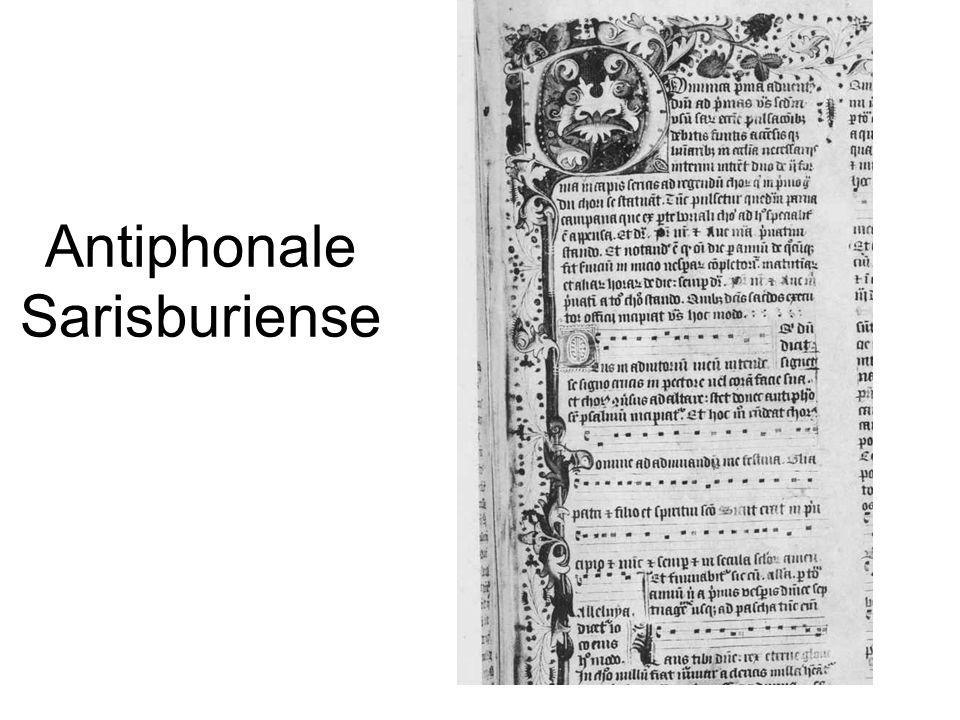 Antiphonale Sarisburiense