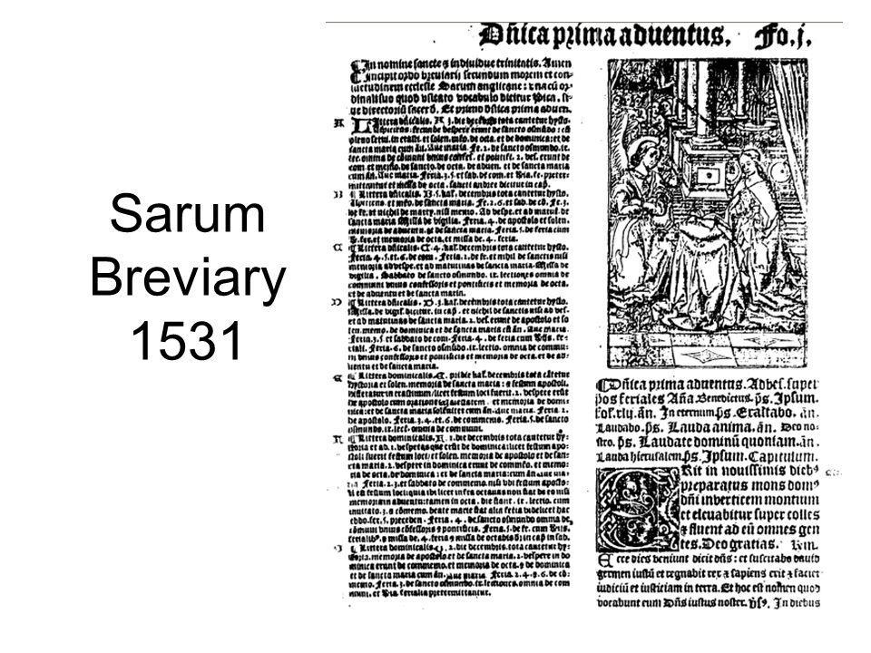 Sarum Breviary 1531