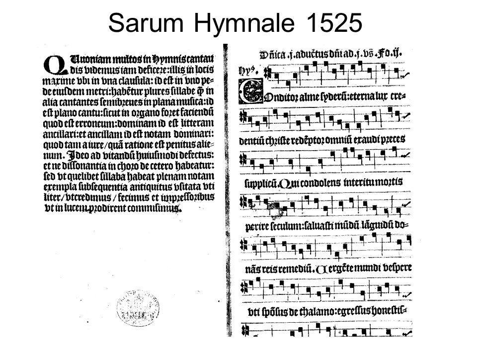 Sarum Hymnale 1525
