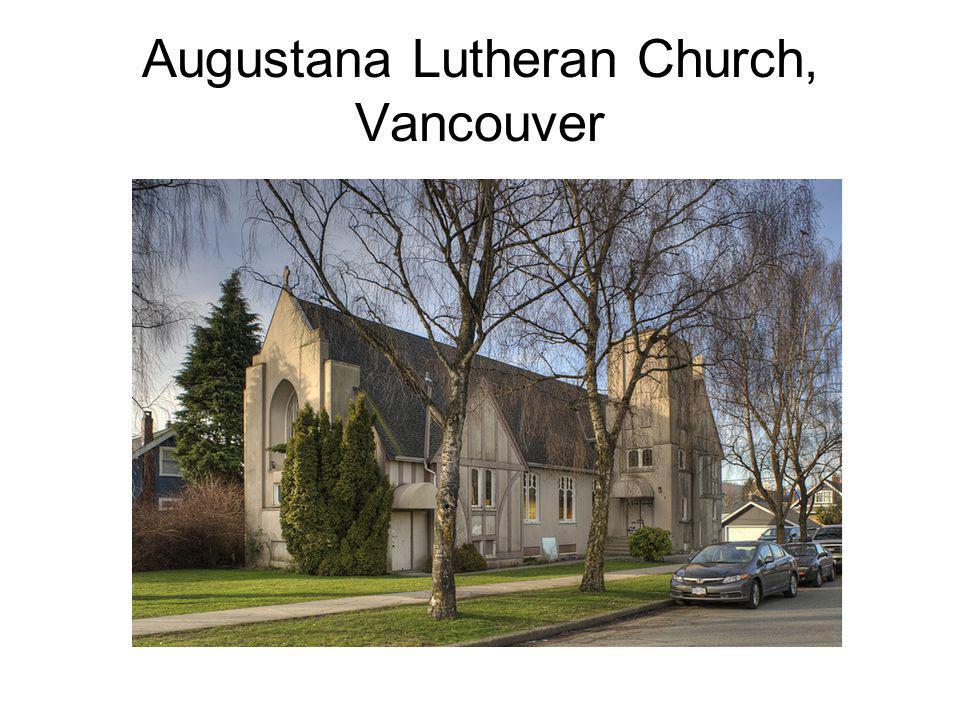 Augustana Lutheran Church, Vancouver