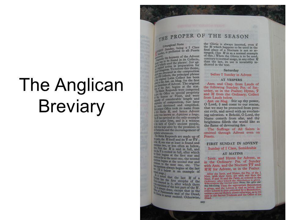 The Anglican Breviary