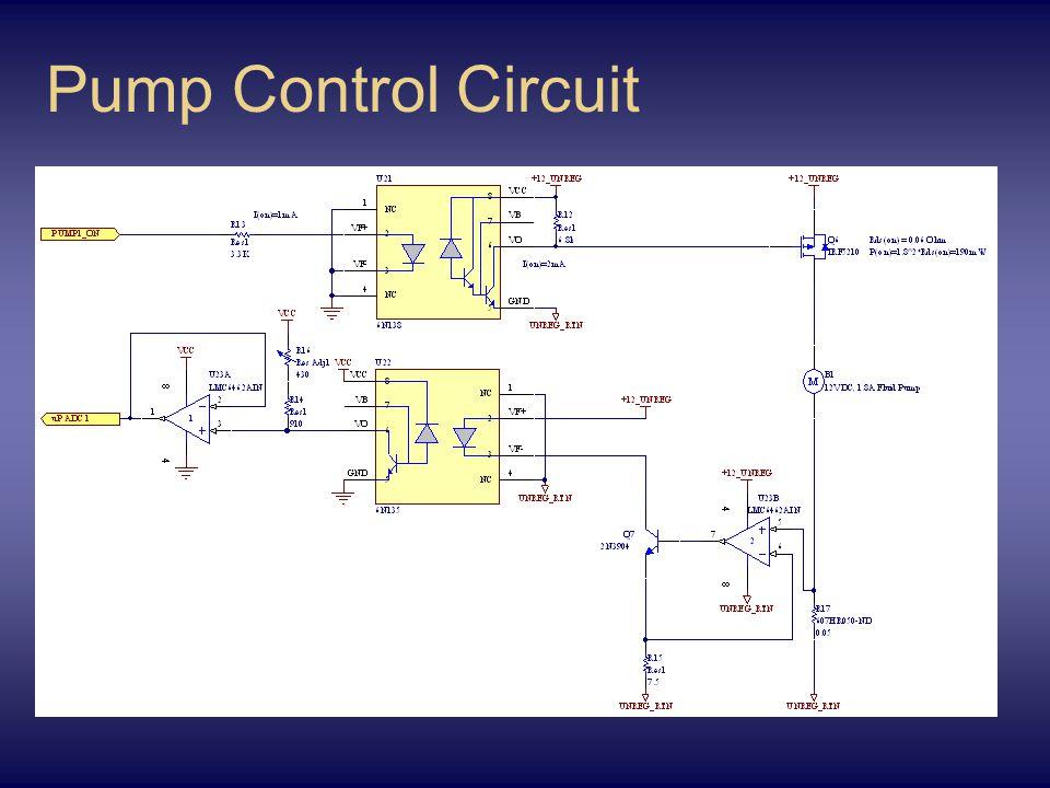 Pump Control Circuit