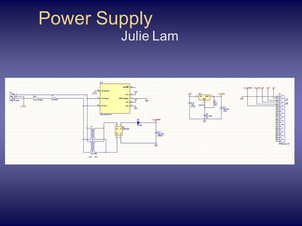 Power Supply Julie Lam