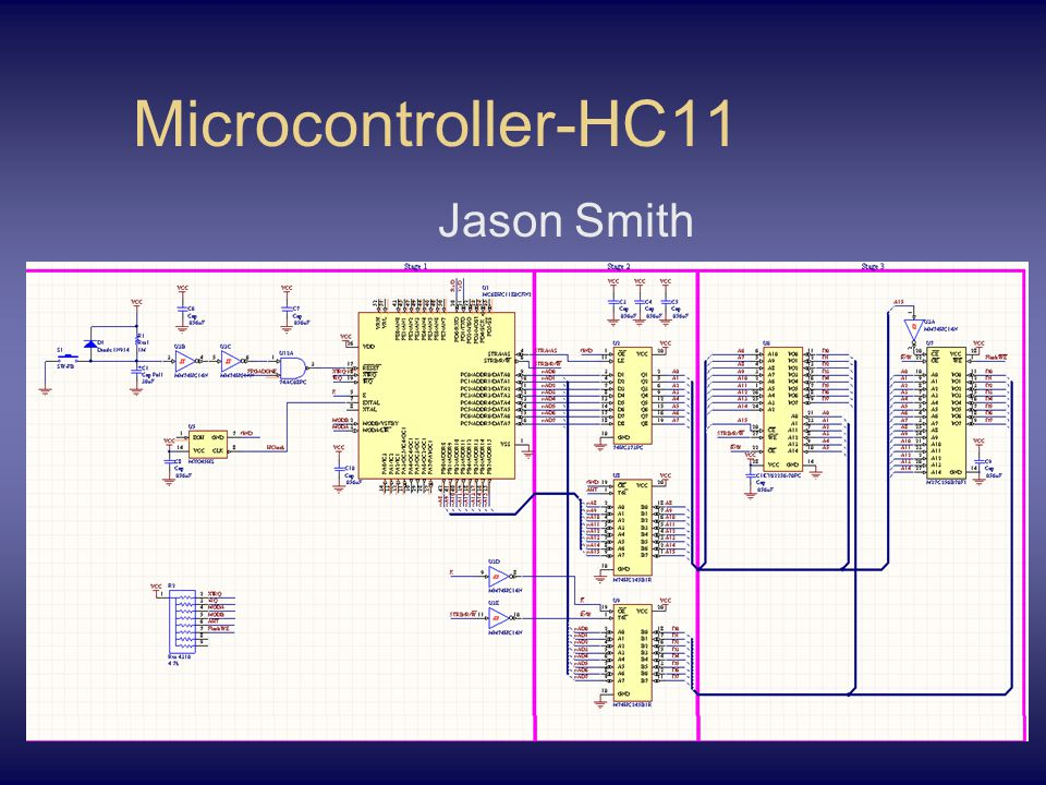 Microcontroller-HC11 Jason Smith
