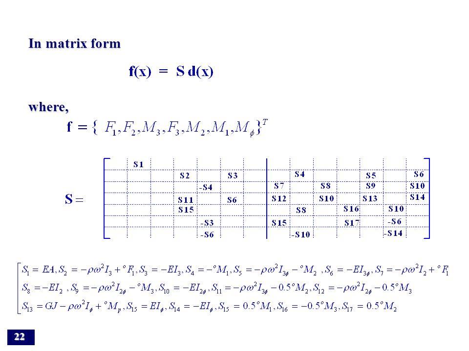 Compute complex inverse matrix by using IMSL subroutine DLINCG Compute complex inverse matrix by using IMSL subroutine DLINCG21 Displacement state vector