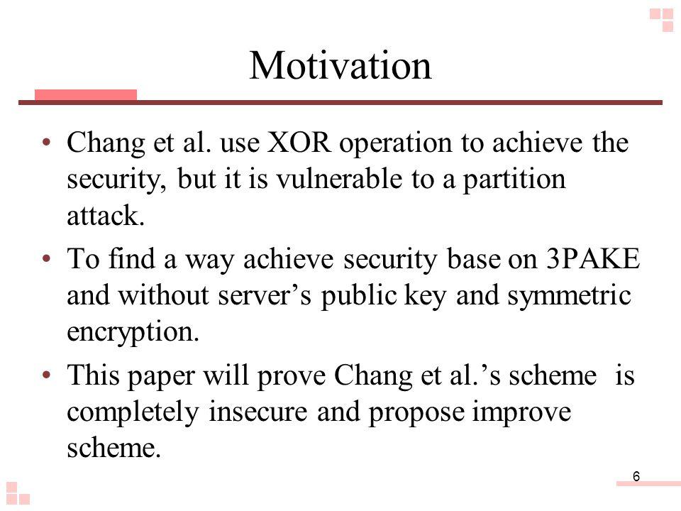 6 Motivation Chang et al.