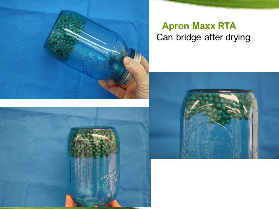 Apron Maxx RTA Can bridge after drying