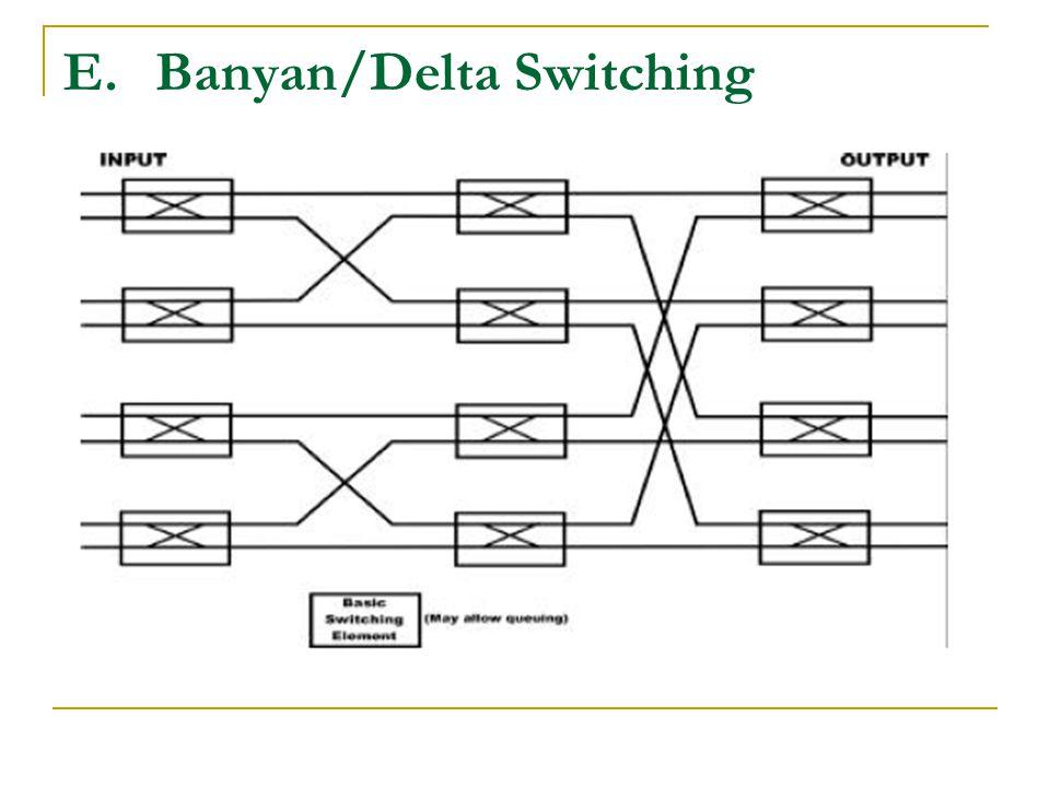 E.Banyan/Delta Switching
