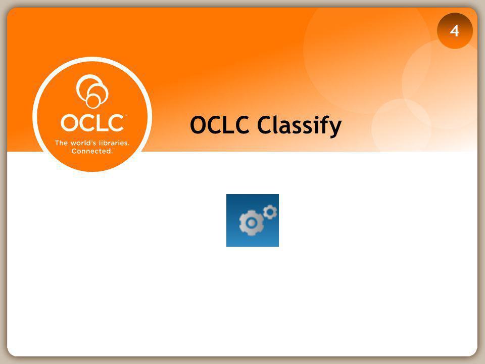 OCLC Classify 4