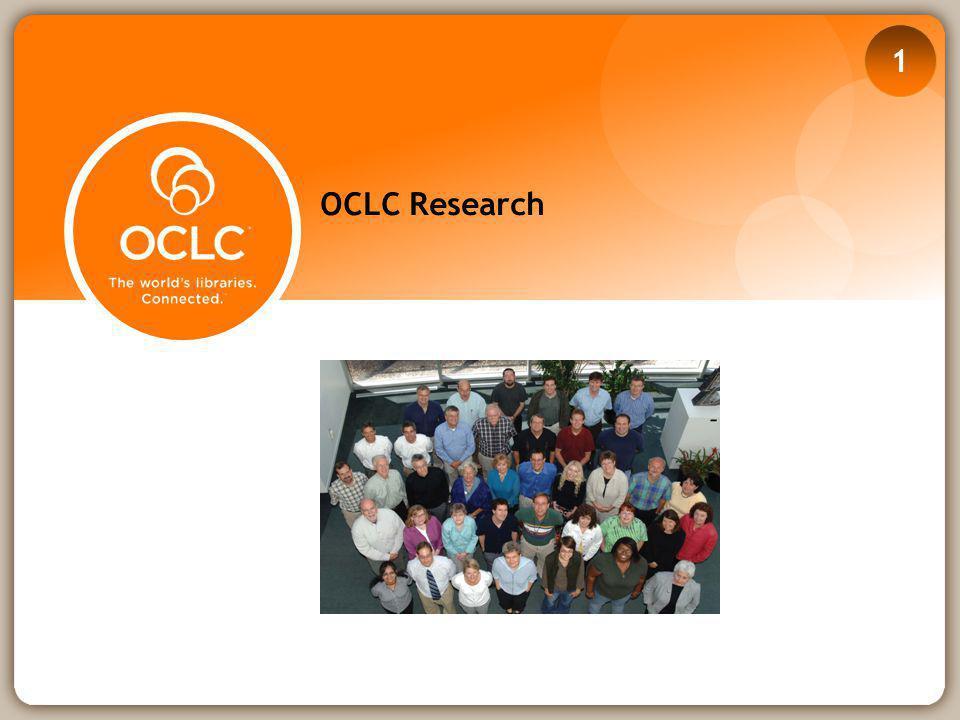 OCLC Research 1