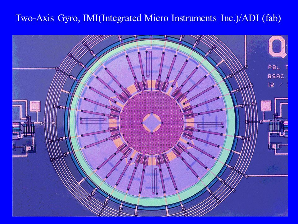 Two-Axis Gyro, IMI(Integrated Micro Instruments Inc.)/ADI (fab)