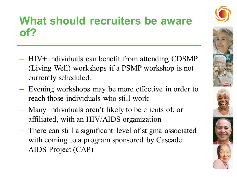 What should recruiters be aware of.