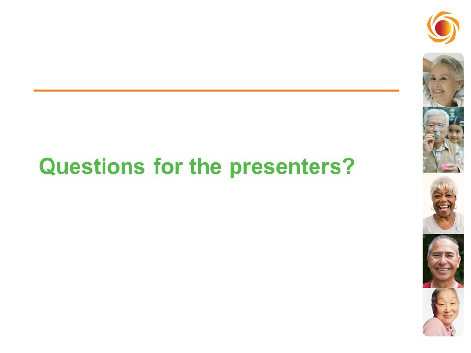 Questions for the presenters?