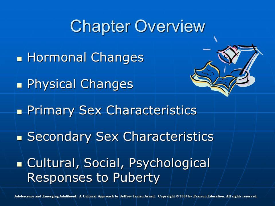 Hormonal Changes Hormonal Changes Physical Changes Physical Changes Primary Sex Characteristics Primary Sex Characteristics Secondary Sex Characterist