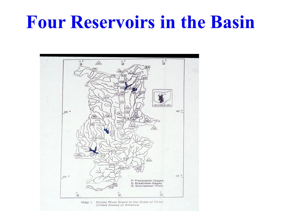 Four Reservoirs in the Basin