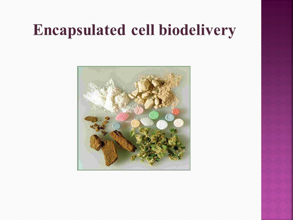 Encapsulated cell biodelivery