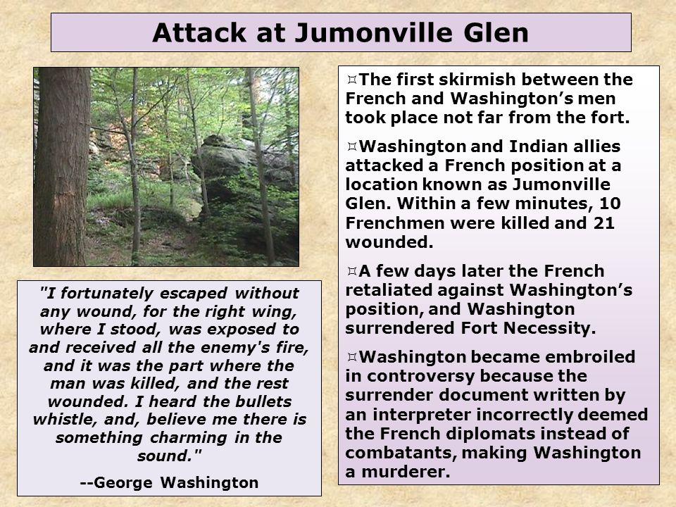 37 Attack at Jumonville Glen