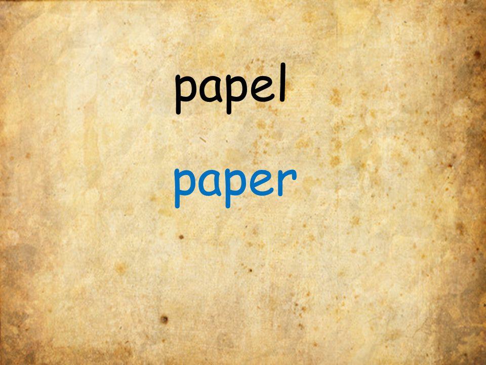 papel paper