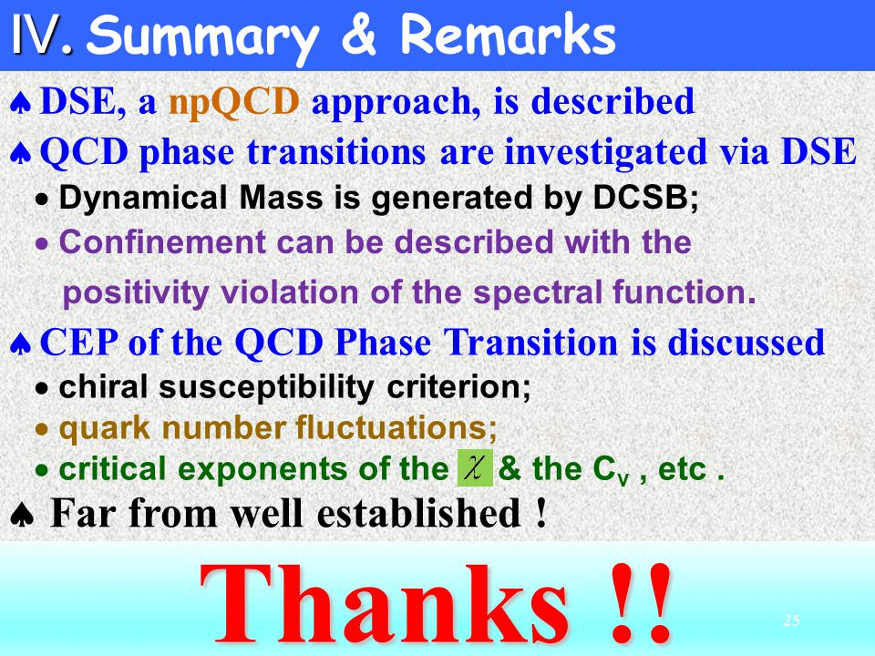  Dynamical Mass is generated by DCSB;  Confinement can be described with the positivity violation of the spectral function.