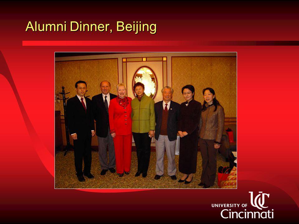Alumni Dinner, Beijing