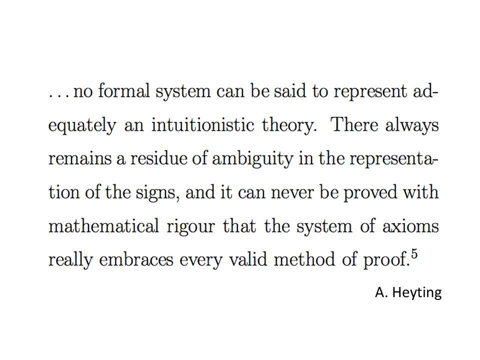 A. Heyting