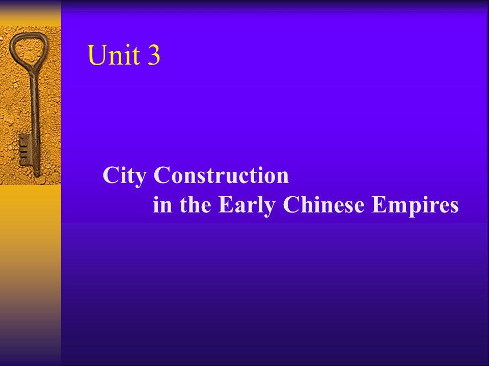 City and Palaces Qin Empire (221-206 B.C)