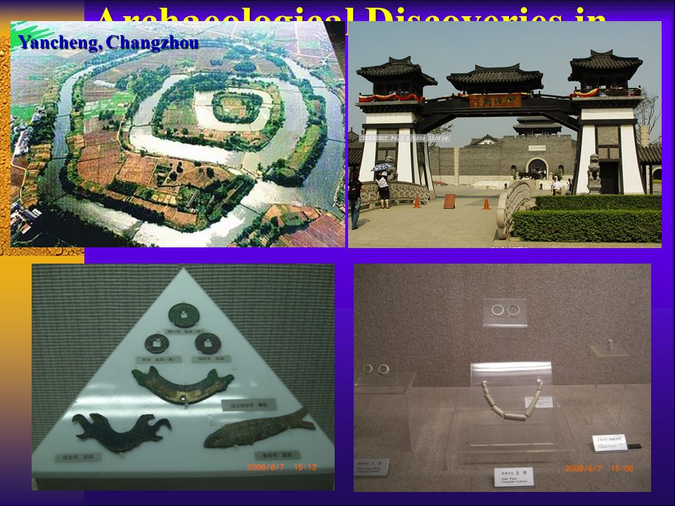 Archaeological Discoveries in Yangtze River Basin (BC) Yancheng, Changzhou