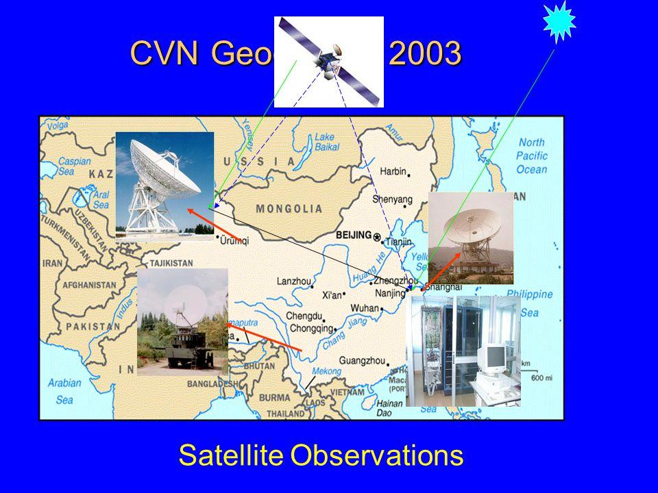 CVN Geography, 2003 KUNMIN - SESHAN25 1920. URUMQI - KUNMIN 2477.