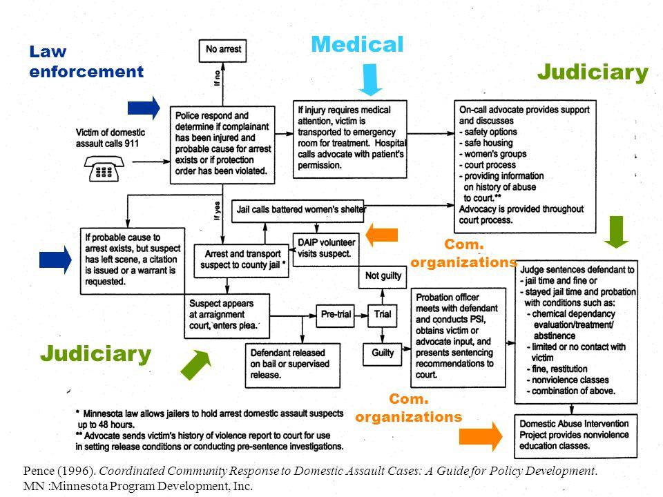 Law enforcement Com. organizations Judiciary Pence (1996).