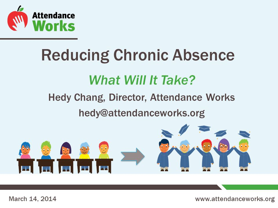 www.attendanceworks.org Reducing Chronic Absence What Will It Take.