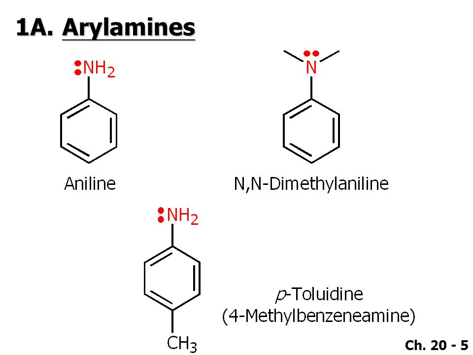 Ch. 20 - 46 5A.Oxidation of Amines