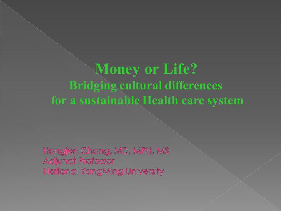 38 Insured BEFORE NHI AFTER NHI Uninsured (8.6 million) Insured d Uninsured 1.33% 98.67% 41% 59% HongJen Chang