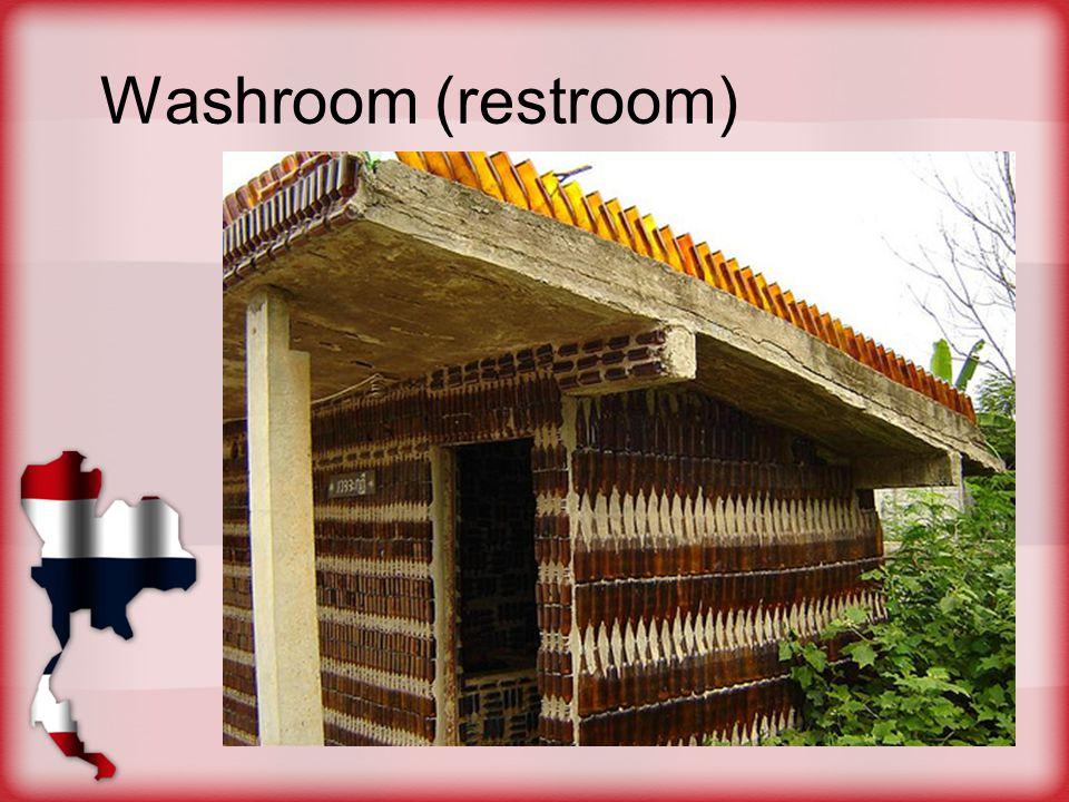 Washroom (restroom)