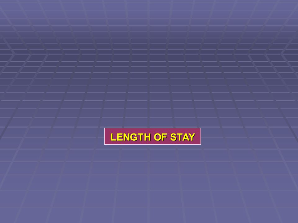 LENGTH OF STAY