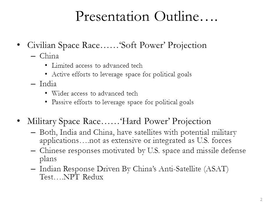 Presentation Outline….